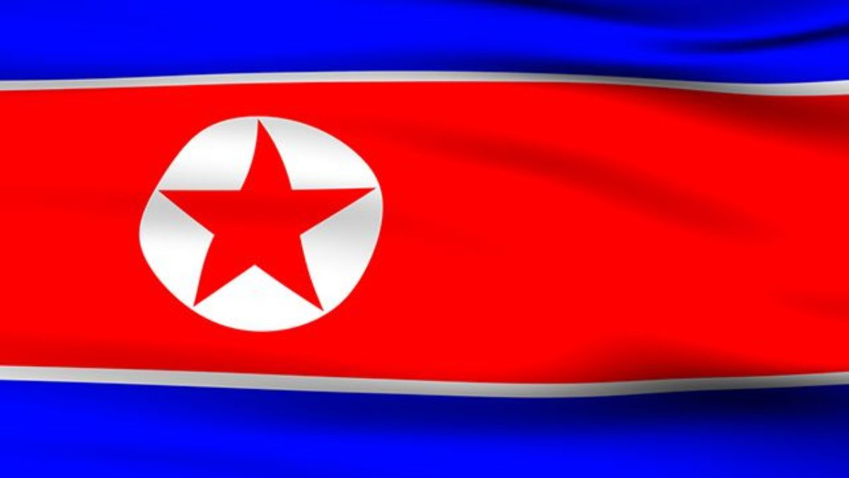Bandeira da Coreia do Norte